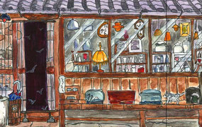 陶器と蔵の街並み 多治見本町オリベストリート Tajimi Honmachi Oribe Street