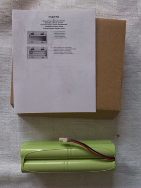 Originalersatzteil KERN WAAGEN PCB-A01: Akkuset wiederaufladbar mit Netzteil für die Chromatographie/ Chemie