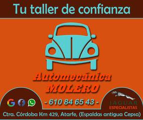 Automecánica Molero, especialista en Jaguar, Atarfe