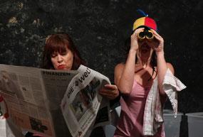 Jenny Ulbricht und Agnieszka Kleemann / 12 Stufen Theater