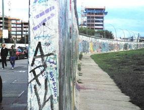 East Side Gallery, muro de Berlín. © Ana Blanco