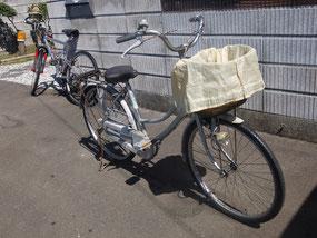パートナー用自転車を整備しましたサイクリング?