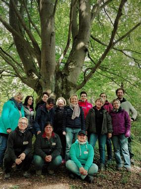 Fortbildung der Wildnisschule Habichtswald mit Erzieherinnen der Kindertagesstätten Wolfhagen
