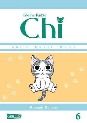 Die kleine Katze Chi Band 6 - Cover