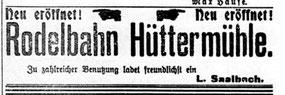 Radeberger Zeitung 19.11.1909