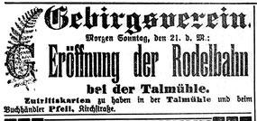 Radeberger Zeitung 20.11.1909