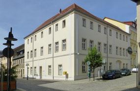 Das Knoblochsche Haus Hauptstraße 14 (ehem. Nr. 16) heute, schlicht und schmucklos