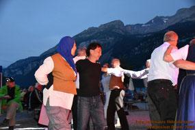 Mariam Radwan und Naruo Nishimura beim Sternentanz