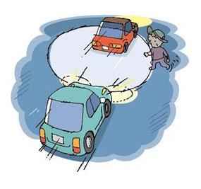 高齢者の歩行中事故