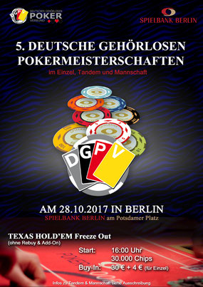 Pokern Berlin 2017