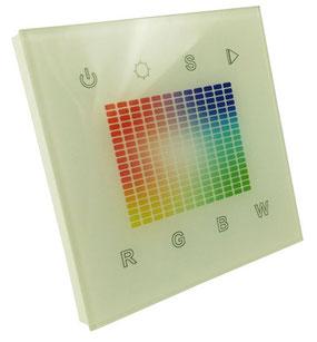 Пульт Touch-панель SR-2831S-AC (W) /1 зона