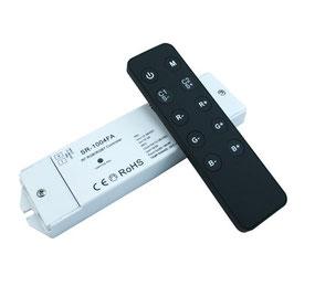 Контроллер однозональный с пультом SR-2808-SR-1004FA
