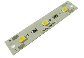 Светодиодный модуль - кластер MD_3xFM5730_1W_AL_70x13_White Neutral_no wires