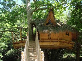 Boomhut cabane en l'air