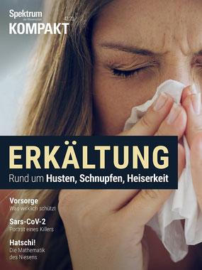 Magazin Spektrum Kompakt Erkältungen - Husten, Schnupfen, Heiserkeit - Die besten Magazine und Zeitschriften Deutschlands.