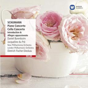 Robert Schumann - Cellokonzert und Klavierkonzert - Piano Concerto op. 54 -  Daniel Barenboim & Cello Concerto op. 129 - Jacqueline du Pré