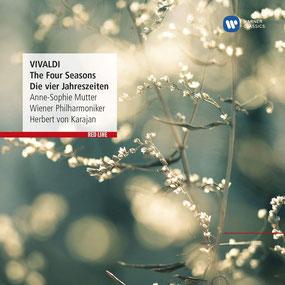 Vivaldi: Die Vier Jahreszeiten - Anne-Sophie Mutter, Wiener Philharmoniker und Herbert von Karajan