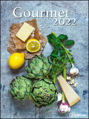 Gourmet 2022 Foto-Kalender Poster-Kalender - 48x64 - Rezepte - Küche Kalender – Posterkalender von teNeues Calendars