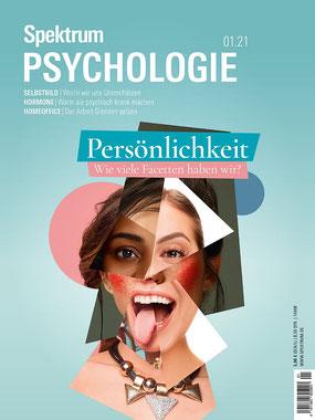 Spektrum Psychologie 2021.01 Persönlichkeit Magazin   |  Kindle  Wieviele Facetten haben wir? von Spektrum der Wissenschaft
