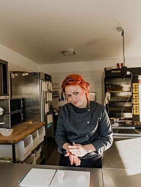 Bäcker- und Konditormeisterin Fanny Hübner von Fanny´s Manufaktur