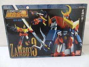 Soul of Chogokin GX-23 Zambot 3