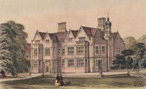 IMA.19.068 Dingestow Court, Co. Monmouth – Landsitz von Samuel Richard Bosanquet, Esq. (1744-1806) (Lithografie, um 1850) / © Sammlung BFHG