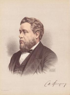 IMA.19.039 Charles Haddon Spurgeon (1834-1892) (Farblithographie, um 1890) / © Sammlung PRISARD