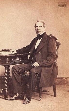 IMA.19.038 Pierre Elie Rambal (* ca. 1806) (Studiofotografie, um 1875) / © Sammlung PRISARD