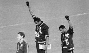 Das Wort Neger ist postitiv besetzt. Er erinnert mich an die US-amerikanischen 200-Meter-Läufer Tommie Smith und John Carlos.