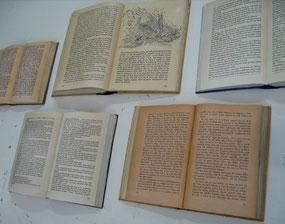 Abformung von Büchern, Abgüsse in Gießkunststoff