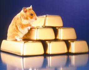 Anfertigung der Goldbarrendummies, Fotograf: Markus Heumann
