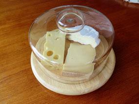 クロシェに入れたチーズ