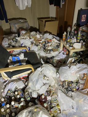 草加 お部屋片づけ ゴミ屋敷清掃 不用品回収