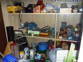 埼玉 物置の中身 不用品処分 物置の解体撤去