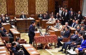 党首討論2018.5