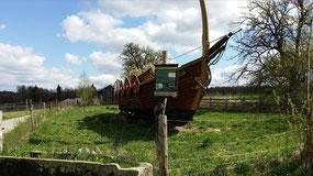 Geschichtspark Adventon, Wikingerschiff
