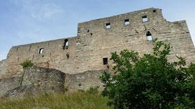 Burg Trausnitz, Ringmauer der Hauptburg