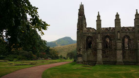 Holyrood Abbey, gegründet 1128 in Edinburgh
