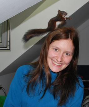 Eichhörnchen Wildtier Auswilderung Sarah Unterberger