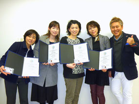 NLPファミリーセラピー・プラクティショナーコース第6期生と(2015年3月8日)
