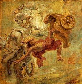 Rubens, La chute de Phaéton