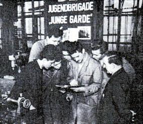 """Jugendbrigade """"Junge Garde"""""""