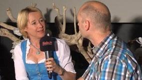 Martina Fehlner und Markus Huth / MainTV