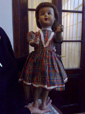 Linda Miranda, una muñeca totalmente fabricada en nuestro país.