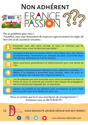 France Passion, camping-car, accueil camping-car