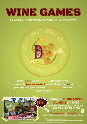 oenotourisme, wine games, jeux de société, aprendre en s'amusant, évènement
