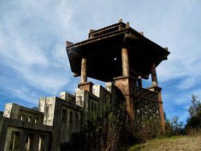 ein Glockenturm, der Vietnam und China verband