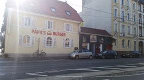 PAPA`S BURGER, Heidelberger Straße
