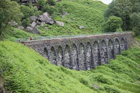 Das Viadukt der ehemaligen Oban Line