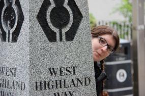 Ein Tag auch am berühmten West Highland Way